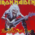 IRON MAIDEN Fear of the Dark Live BANNER Huge 4X4 Ft Fabric Poster Tapestry Flag Print album cover