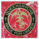 QUEENSRYCHE Rage For Order BANNER Huge 4X4 Ft Fabric Poster Tapestry Flag Print album cover art