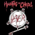 SLAYER Haunting the Chapel BANNER Huge 4X4 Ft Fabric Poster Tapestry Flag Print album cover art