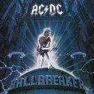 AC/DC Ballbreaker Huge 4X4 Ft Fabric Poster Tapestry Flag Print album cover art