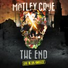 MOTLEY CRUE The End BANNER Huge 4X4 Ft Fabric Poster Tapestry Flag Print album cover art