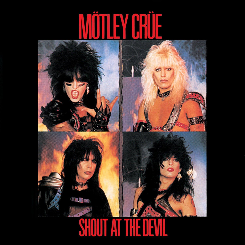 MOTLEY CRUE Shout at the Devil BANNER Huge 4X4 Ft Fabric ...