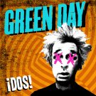 GREEN DAY Dos BANNER Huge 4X4 Ft Fabric Poster Tapestry Flag Print album cover art