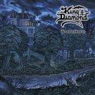 KING DIAMOND Voodoo BANNER Huge 4X4 Ft Fabric Poster Tapestry Flag Print album cover art