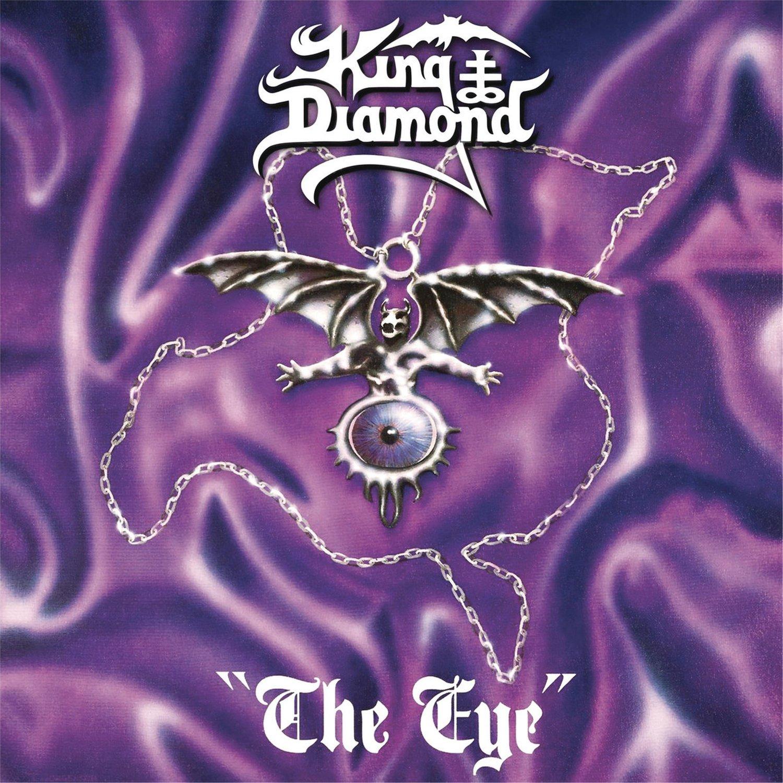 KING DIAMOND The Eye BANNER Huge 4X4 Ft Fabric Poster Tapestry Flag Print album cover art