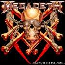 MEGADETH Killing Is My Business BANNER Huge 4X4 Ft Fabric Poster Tapestry Flag Print album cover art