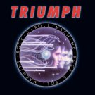 TRIUMPH Rock & Roll Machine BANNER Huge 4X4 Ft Fabric Poster Tapestry Flag Print album cover art