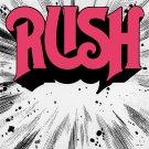 RUSH First Album BANNER Huge 4X4 Ft Fabric Poster Tapestry Flag Print album cover art