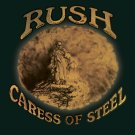 RUSH Caress of Steel BANNER Huge 4X4 Ft Fabric Poster Tapestry Flag Print album cover art