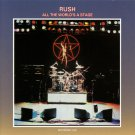 RUSH All The World's a Stage BANNER Huge 4X4 Ft Fabric Poster Tapestry Flag Print album cover art
