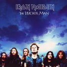 IRON MAIDEN The Wicker Man BANNER Huge 4X4 Ft Fabric Poster Tapestry Flag Print album cover art