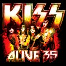 KISS Alive 35 BANNER Huge 4X4 Ft Fabric Poster Tapestry Flag Print album cover art