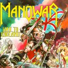 MANOWAR Hail to England BANNER Huge 4X4 Ft Fabric Poster Tapestry Flag Print album cover art