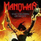 MANOWAR The Triumph of Steel BANNER Huge 4X4 Ft Fabric Poster Tapestry Flag Print album cover art