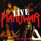 MANOWAR Hell on Wheels BANNER Huge 4X4 Ft Fabric Poster Tapestry Flag Print album cover art