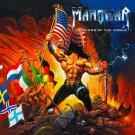 MANOWAR Warriors of the World BANNER Huge 4X4 Ft Fabric Poster Tapestry Flag Print album cover art