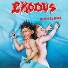 EXODUS Bonded by Blood BANNER Huge 4X4 Ft Fabric Poster Tapestry Flag Print album cover art