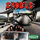 EXODUS Impact is Imminent BANNER Huge 4X4 Ft Fabric Poster Tapestry Flag Print album cover art