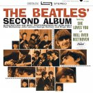 The BEATLES Second Album BANNER Huge 4X4 Ft Fabric Poster Tapestry Flag Print album cover art