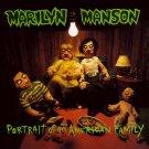 MARILYN MANSON Portrait of an American Family BANNER Huge 4X4 Ft Fabric Poster Flag album art