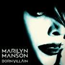 MARILYN MANSON Born Villain BANNER Huge 4X4 Ft Fabric Poster Tapestry Flag Print album cover art