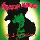 MARILYN MANSON Smells Like Children BANNER Huge 4X4 Ft Fabric Poster Tapestry Flag album cover art