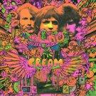 CREAM Disraeli Gears BANNER Huge 4X4 Ft Fabric Poster Tapestry Flag Print album cover art