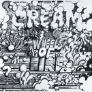 CREAM Wheels of Fire BANNER Huge 4X4 Ft Fabric Poster Tapestry Flag Print album cover art