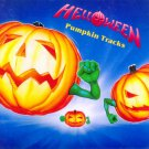 HELLOWEEN Pumpkin Tracks BANNER Huge 4X4 Ft Fabric Poster Tapestry Flag Print album cover art
