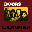 THE DOORS L.A. Woman BANNER Huge 4X4 Ft Fabric Poster Tapestry Flag Print album cover art