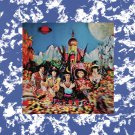 ROLLING STONES Their Satanic Majesties Request BANNER Huge 4X4 Ft Fabric Poster Tapestry Flag art