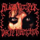 ALICE COOPER Dirty Diamonds BANNER Huge 4X4 Ft Fabric Poster Tapestry Flag Print album cover art