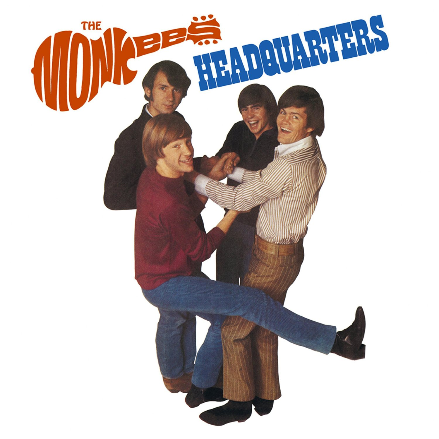The MONKEES Headquarters BANNER Huge 4X4 Ft Fabric Poster Tapestry Flag Print album cover art