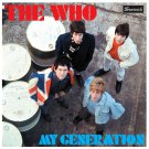 The WHO My Generation BANNER Huge 4X4 Ft Fabric Poster Tapestry Flag Print album cover art