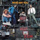 The WHO Who are You BANNER Huge 4X4 Ft Fabric Poster Tapestry Flag Print album cover art