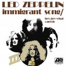 LED ZEPPELIN Immigrant Song 4X4 Ft Fabric Poster Tapestry Flag Print album cover art