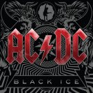 AC/DC Black Ice Huge 4X4 Ft Fabric Poster Tapestry Flag Print album cover art