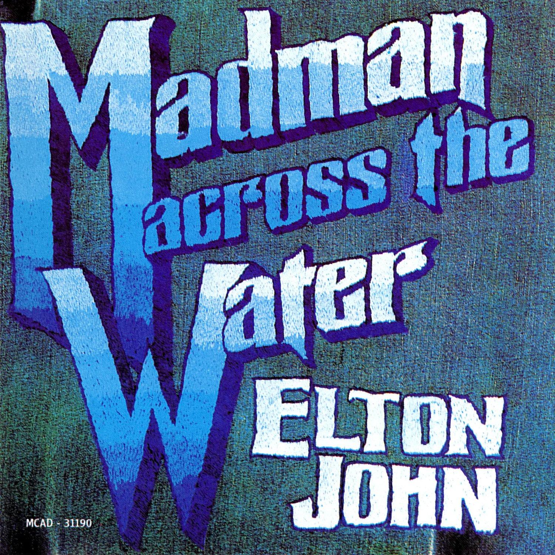 ELTON JOHN Madman Across the Water BANNER Huge 4X4 Ft Fabric Poster Tapestry Flag album cover art