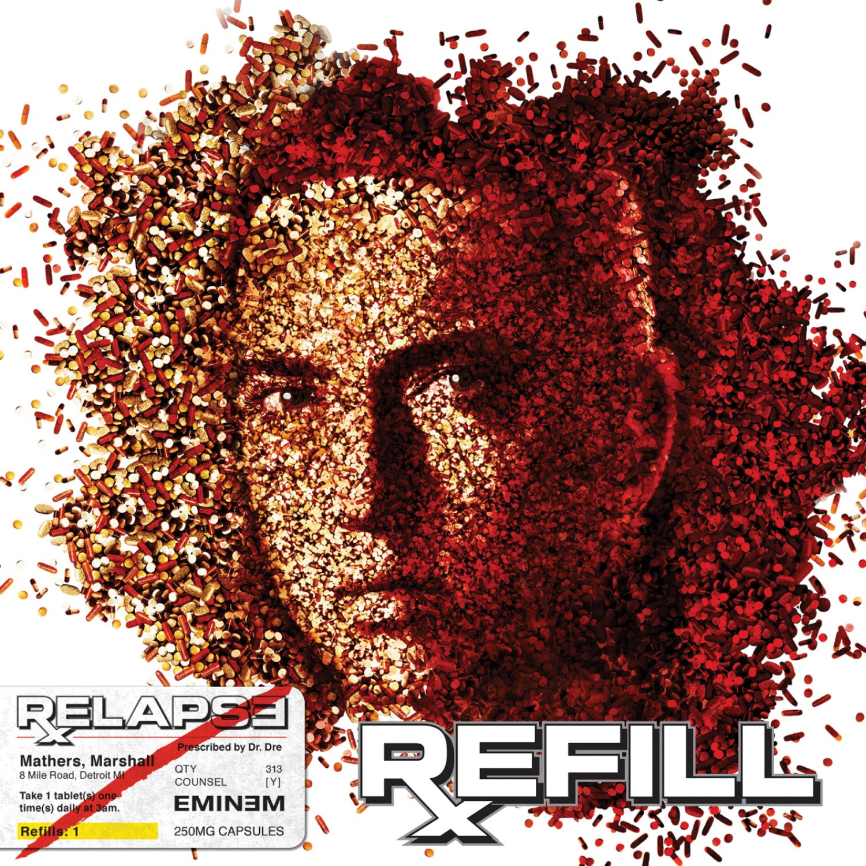 EMINEM Relapse: Refill BANNER Huge 4X4 Ft Fabric Poster Tapestry Flag Print album cover art