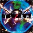 TESLA Mechanical Resonance BANNER Huge 4X4 Ft Fabric Poster Tapestry Flag Print album cover art