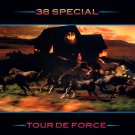 38 SPECIAL Tour De Force BANNER Huge 4X4 Ft Fabric Poster Tapestry Flag Print album cover art