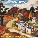 TOM PETTY Into the Great Wide Open BANNER Huge 4X4 Ft Fabric Poster Tapestry Flag album cover art