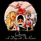 QUEEN A Day at the Races BANNER Huge 4X4 Ft Fabric Poster Tapestry Flag Print album cover art
