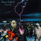 BLACK SABBATH Live Evil BANNER Huge 4X4 Ft Fabric Poster Tapestry Flag Print album cover art