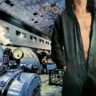 UFO Lights Out BANNER Huge 4X4 Ft Fabric Poster Tapestry Flag Print album cover art