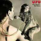 UFO No Heavy Petting BANNER Huge 4X4 Ft Fabric Poster Tapestry Flag Print album cover art