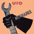 UFO Mechanix BANNER Huge 4X4 Ft Fabric Poster Tapestry Flag Print album cover art