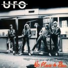 UFO No Place To Run BANNER Huge 4X4 Ft Fabric Poster Tapestry Flag Print album cover art
