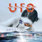 UFO Showtime BANNER Huge 4X4 Ft Fabric Poster Tapestry Flag Print album cover art