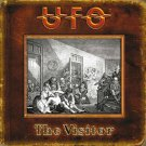 UFO The Visitor BANNER Huge 4X4 Ft Fabric Poster Tapestry Flag Print album cover art